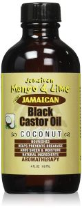 Jamaican Mango Black Castor Oil