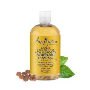 Shea Moisture Low Porosity Protein Free Shampoo